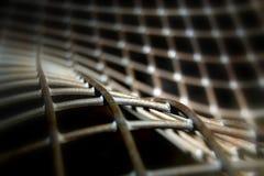 absract设计金属模式 免版税库存图片