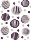 Absract объезжает handdrawn вектор картины бежевый и коричневый бесплатная иллюстрация