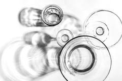 Absract玻璃 免版税图库摄影
