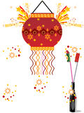 Absract artwork illustration for diwali Stock Photography