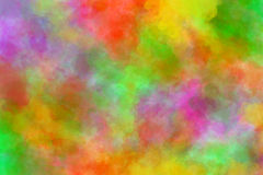 Absract background. Abstract colorful background in yellow red and green Royalty Free Illustration