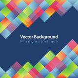 Absract background. Vector abstract color background. Color squares Royalty Free Illustration