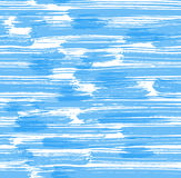 Absract background. Seamless blue brush stripes. Vector illustration Stock Photo