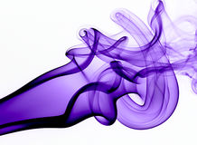 Absract Colored Smoke Royalty Free Stock Photos