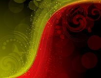 Absract_colorful_background_with_bright_sparks Royalty Free Stock Photos