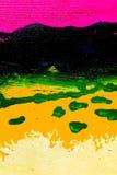 Absract Grunge Plakat-Hintergrund Stockbild
