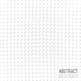 Absract halftone geometric background. Vector illustration Stock Image