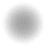 Absract halftone geometric background. Vector illustration Royalty Free Stock Photo