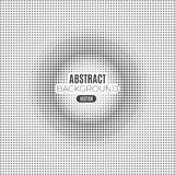 Absract halftone geometric background. Vector illustration Stock Photography