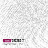 Absract halftone geometric background. Vector illustration Royalty Free Stock Image