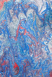 Absract painting in red, white and blue Royalty Free Stock Photography