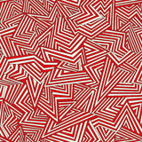 Absract pattern. Seamless abstract pattern. White and red. Vector illustration Stock Photography