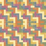 Absract seamless pattern. Vector illustration Royalty Free Stock Photos