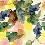 Absract seamless wallpaper. Watercolor illustration royalty free illustration