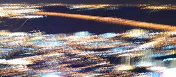 Absract suddigt arkitektoniskt stads- av cityscape Royaltyfri Bild