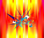 Absrtact Background. An Abstract colorful explosion background vector illustration