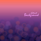 Absrtact bokeh effect background with purlpe and red gradient. Abstract bokeh effect background with purple and red gradient royalty free illustration