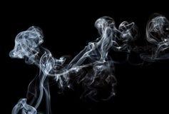 Absrtact konst med rök Arkivbilder