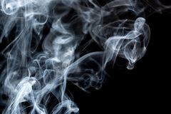 Absrtact konst med rök Arkivbild