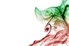Absrtact konst med rök Royaltyfri Bild
