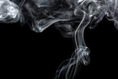 Absrtact konst med rök Arkivfoto
