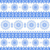 Absrtact nordic pattern. Vector illustration Stock Illustration