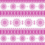 Absrtact nordic pattern Stock Photography