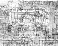Absrtact Pläne Lizenzfreie Stockfotos