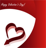 Absrtact valentine's day background Stock Photo
