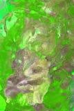Absstract gräsplanmålning Arkivfoton