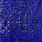 abstact蓝色纹理 库存图片