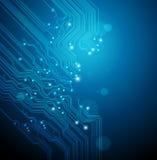 abstact μπλε τεχνικός ανασκόπησ& απεικόνιση αποθεμάτων