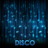 Abstact Background. Disco Neon Stock Photography