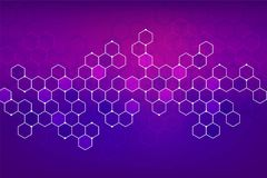 Abstact background with geometric style. Vector stock illustration