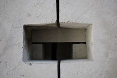 Abstact-Betonblock Stockbilder