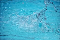 Abstact bluer background full Frame water drops.  stock photo