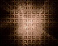 Abstact Brown Background. Abstract Brown Glowing Fractal Background stock illustration