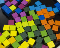 Abstact colorful cubes Royalty Free Stock Image