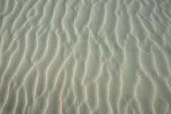 Abstact detail of beach. Detail of beach showing structure of sand Royalty Free Stock Image