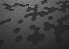 Abstact hexagon background Royalty Free Stock Images