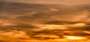 Abstact himmel med moln Royaltyfri Fotografi