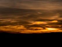 Abstact himmel med moln Royaltyfria Bilder