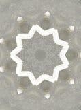 Abstact kaleidoskopefoto av cementjordning Royaltyfri Bild