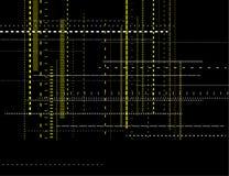 Abstact modern teknologibakgrund Arkivfoton