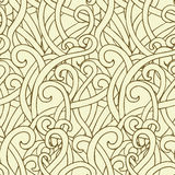 Abstact-pattern. Seamless vector abstract grass pattern Stock Illustration
