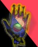 Abstact plast- som handen Royaltyfria Foton