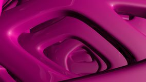 Abstact purple futuristic sci fi glossy metal background. 3d render stock illustration