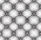 Abstact  seamless black-and-white geometric pattern Floral. Abstact  seamless pattern. Floral line swirl geometric texture. Stylish abstract ornamental Royalty Free Stock Image