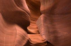 Abstact shapes of Antelope Canyon, Arizona, USA Stock Photography