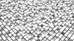 Abstact white cubes. 3d rendering backdrop. Abstact white cubes. 3d rendering backdrop Royalty Free Stock Photography